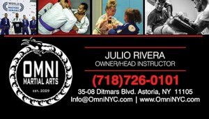 factory Omni Martial Arts  JULIO - Bck